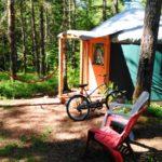 Bob cat yurt at Vernonia Springs