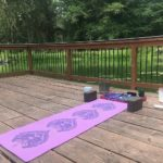 Yoga Mat on Dock