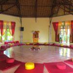 Meditation Hall Bali Mandala inside
