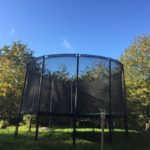 The outdoor Trampoline