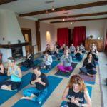 training room, yoga space, sunlight