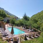 yoga, pool, foulon, provence