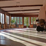 yoga training room, foulon, greolieres