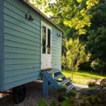 retreat shepherd hut east sussex