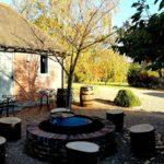 retreat barn courtyard east sussex