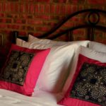 The Hmong Cushions and Super Soft Bedding in the rooms at Gratitude Vietnam Retreat Venue.