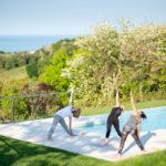 Villa Olivo_yoga by the pool