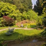 The gardens of Raithby Hall
