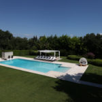 Villa Oliveto_Pool, pool house & yoga deck19 x 7m
