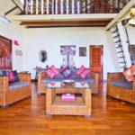 Upstairs Living Room, 180 Degree Ocean Views